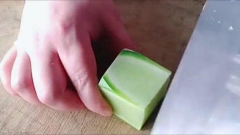 神奇的萝卜刀法,切成这样是要做什么?
