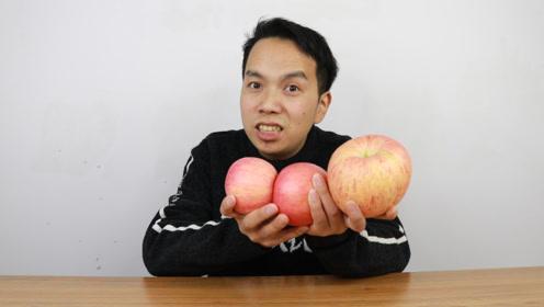 苹果居然还能这样吃,很少有人敢尝试的吃法,来自黑暗料理的挑战