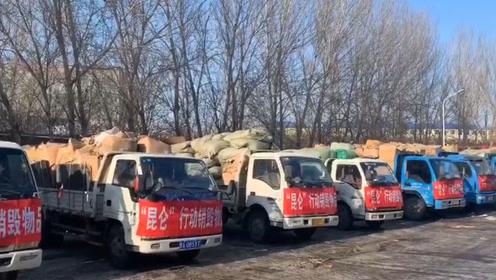 直击现场!黑龙江警方集中销毁8000万元假烟假酒