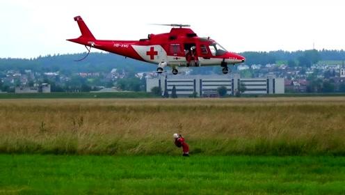 航模,救援直升机,国外土豪真会玩