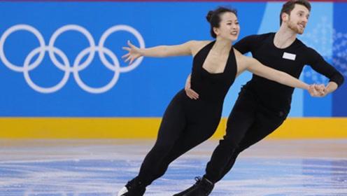 滑冰女神遇尴尬瞬间,比赛时上衣突然崩开,男搭档临场反应令人称赞