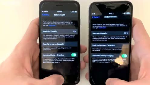 iPhone 7和iPhone 6S速度对比