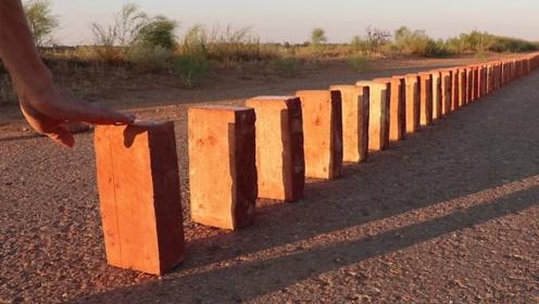 推倒一块砖,就能触发多米诺骨牌效应,你知道原理吗?