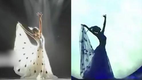 60岁杨丽萍再跳孔雀舞,身姿柔美,腰肢纤细宛如18岁少女
