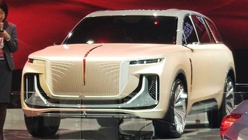 红旗进军纯电动SUV领域,外观雍容华贵,性能优越,期待满满