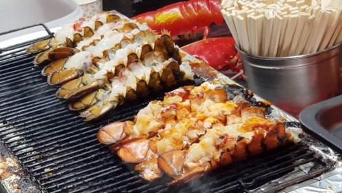 年轻小伙创业卖海鲜小吃,一份45元日销300份,食客:口水直流