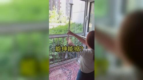 能伸能缩卫生间阳台窗台都可以用哦