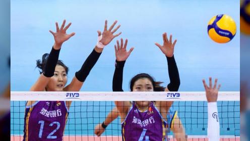 再遭零封!天津女排0-3负于米纳斯女排,只能和恒大争第七名