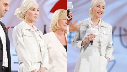 王菲罕见公开亮相状态太好,50岁的她打扮得好似复古名伶