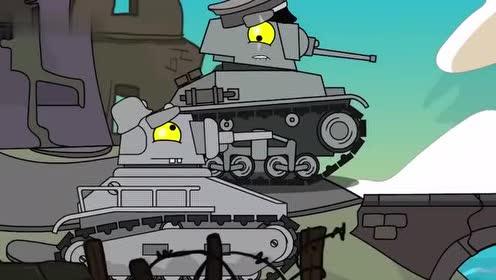 坦克世界:小坦克为什么哈哈笑!