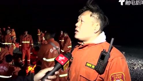 直击现场!记者深夜直播佛山高明山火,在数公里外仍见火光