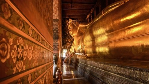 """卧佛寺内暗藏着最正宗的泰式按摩,怪不得这尊佛像""""躺""""得如此舒适!"""