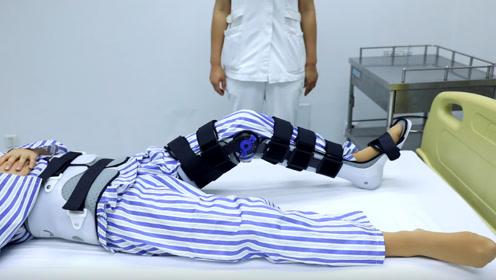 骨科常用护具,髋膝裸足支具的正确佩戴方法