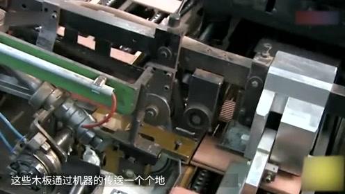 铅笔是如何生产的?机械流水线作业,强迫症看完浑身舒服!