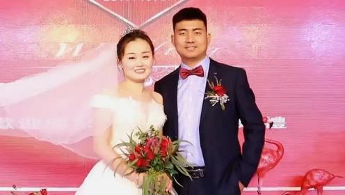 江西一18岁姑娘,被爸爸逼着嫁给当地大老板,猜猜新郎多少岁