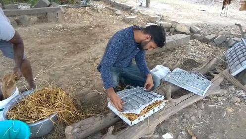 印度人民研发稻草空调,每台只售300元,网友:我也会造