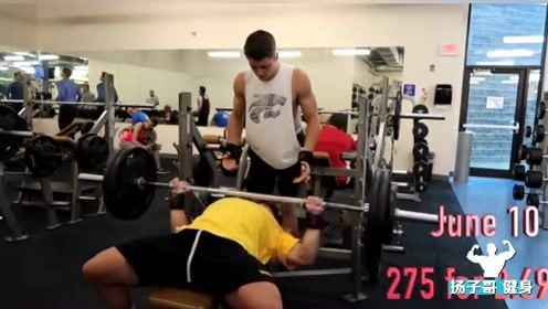 17岁健体小伙高分肌肉,这天赋前途如何