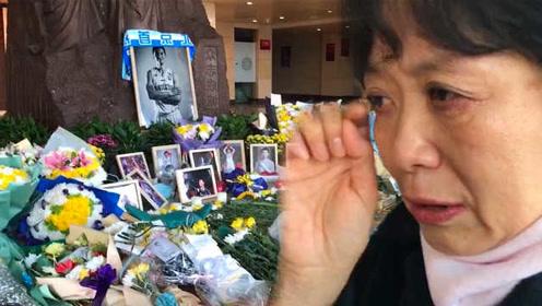 33岁吉喆去世,6旬老球迷泣不成声,外地球迷快递送花