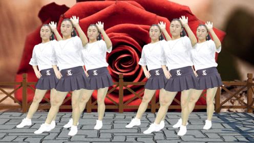 火热DJ广场舞《多情的雨夜更想你》,美女妖娆舞姿,性感撩人