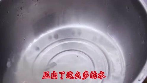 白萝卜的腌制方法,一次做5斤,半年不会坏,香辣爽口,做法简单