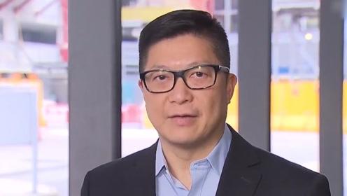 离京之际 香港警务处处长邓炳强会见记者 透露返港后警方策略