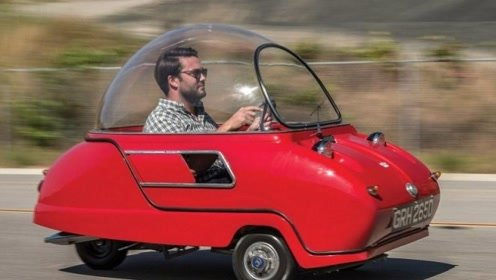 世界上最小的量产汽车,全球仅有50辆,上街后回头率爆表