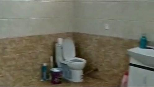 这就是我们农村人的房子厕所,比有些城里人的房间都大