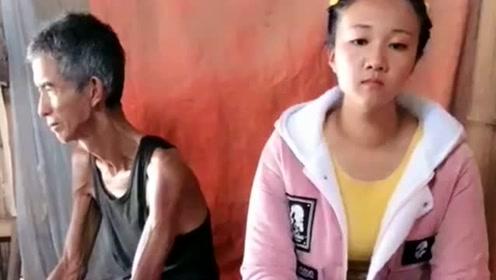 缅甸女孩24岁至今还是单身,和外公相依为命,很怕大家会嫌弃!