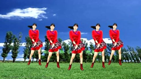 新舞:听一首修身养性的歌曲《听心》跳一支减肥瘦身效果非常好的健身操