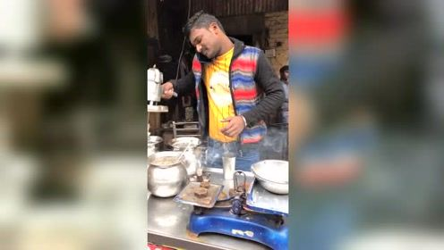 印度水果酸奶,原汁原味,假如你遇上会来一杯吗?