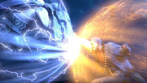 前方高燃生死对决,三藏法师一拳破天,秒杀龙王!