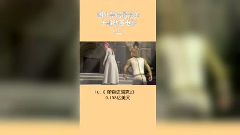 国外票房最高的十部动画电影(上)