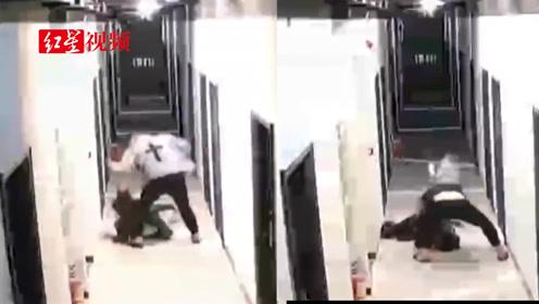 深圳女子被男友从家打到楼道,当地妇联已跟进介入