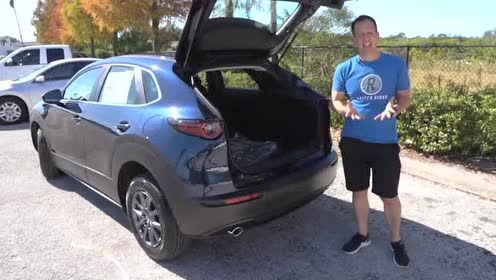 外媒点评2020款 Mazda CX-30的后备箱