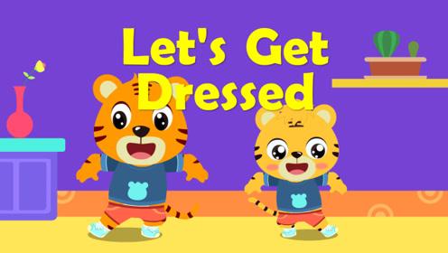 贝乐虎英文儿歌 39 Let's Get Dressed