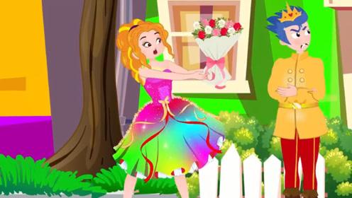 女孩拿鲜花向男孩表白,男孩看不上女孩,还把花朵丢地上踩坏!