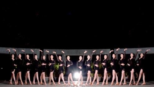 欢乐柔情切克闹!黑裙少女们恰恰伦巴一起跳,这画风真是太完美啦