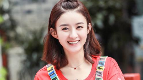 赵丽颖跟张若轩吃烤肉,频频使用肢体语言,全程甜笑