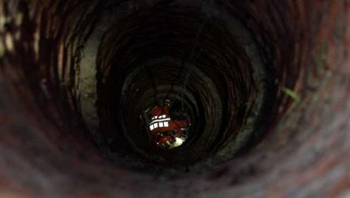 万幸!7岁男童掉入30米深井仅受擦伤,消防下井救援