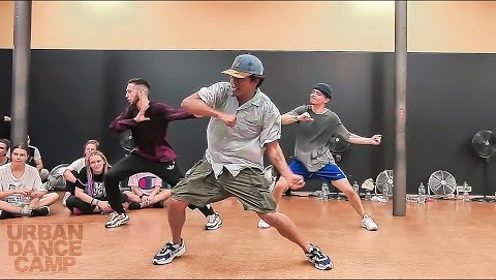 美国街舞团忍者团The Kinjaz成员Lyle Beniga授课编舞