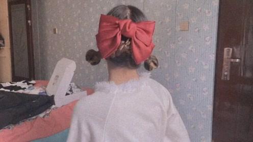 一看到妹子的背影,就超想学这个发型!