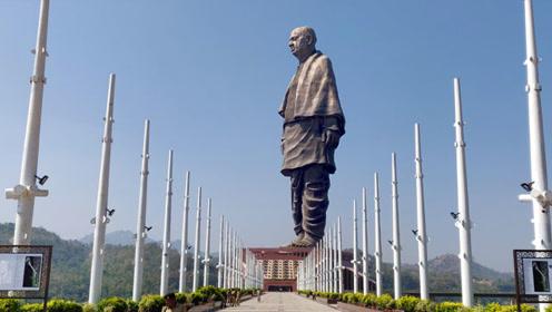 印度最高雕像竣工,高度超河南中原大佛,斥资250亿卢比!