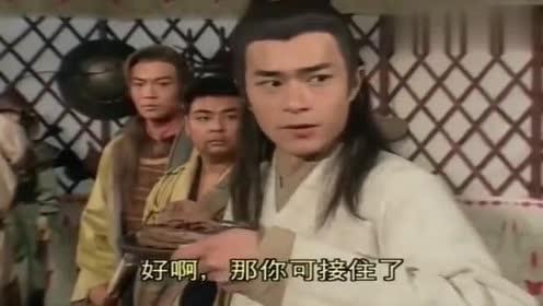 神雕侠侣:金轮法王用筷子比武,不料却被打断,原来是位绝世高手