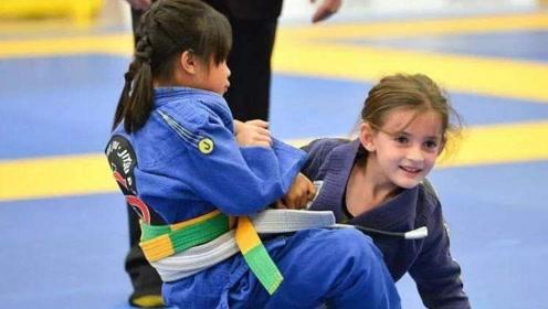 儿童巴西柔术实战,不仅能增强体质,还能增强自信!