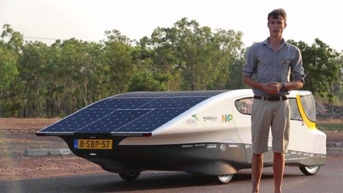 """黑科技""""太阳能""""汽车,外形炫酷零污染,续航可达1600公里!"""
