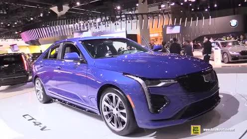 豪华轿车车展实拍,2020款 凯迪拉克 CT4-V