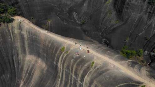 新晋网红!航拍郴州丹霞地貌高椅岭:被遗忘的人间瑶池
