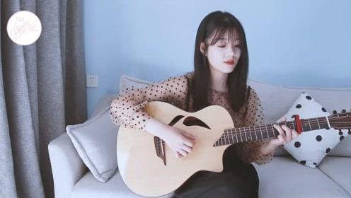 小姐姐吉他弹唱《爱你不是两三天》温柔甜蜜~超好听! 白熊音乐