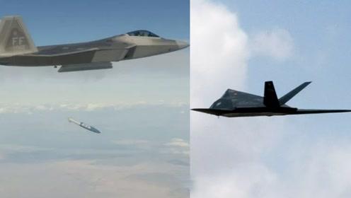F-117变假想敌、B-1b升级为武库机,美军强化实战军备