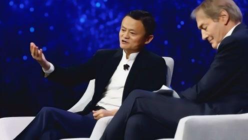 美国人向马云提问:将来中国超过了美国怎么办?马云回答尽显高情商!